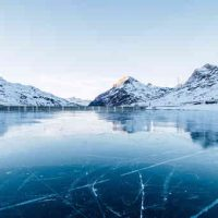 Why does water expand when it freezes?