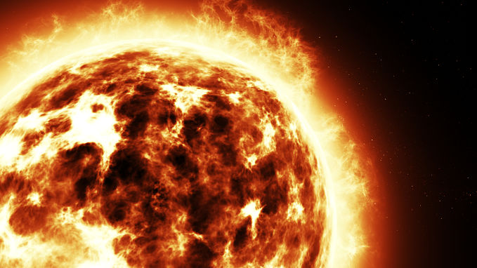 Answering the question, how does the sun produce energy