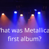 What was Metallica's first album?