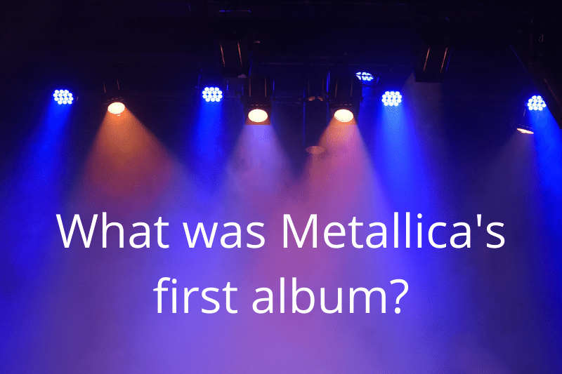 Answering the question: What was Metallica's first album